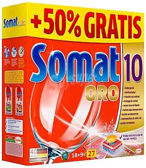 Somat Somat 10 Oro 27 Pastillas 27 dosis