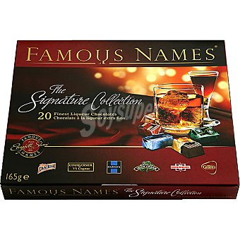 Elizabeth Shaw Famous Name The Signature Collection bombones de licor extra finos estuche 165 g Estuche 165 g