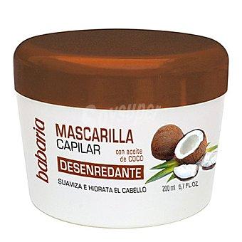 Babaria Mascarilla con aceite de coco y aloe vera 200 ml