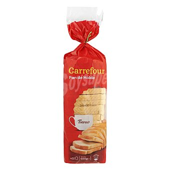 Carrefour Pan blanco 600 g