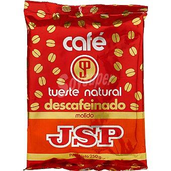 Jsp Cafe descafeinado molido Bolsa 250 g