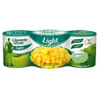 Gigante Verde Maíz light Pack 3x140 g