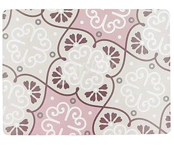 Bloom Mantel individual decorado en tonos rosas, 40x30cm., bloom.