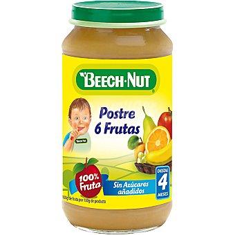 Beech-Nut Tarrito postre 6 frutas 100% fruta sin azúcares añadidos Tarro 250 g
