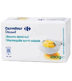 Carrefour Discount Mantequilla c/sal 250 g