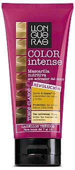 Llongueras Color intense tonos del 7 al 10 - Mascarilla nutritiva con activador del color para cabellos teñidos 200 ml