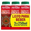 Gazpacho pack 3 unidades 250 ml Pack 3 unidades 250 ml Alvalle