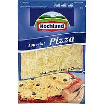 Hochland Rallados Queso rallado para pizza Bolsa 200 g