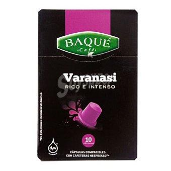 Baqué Café Varanasi Caja 10 monodosis