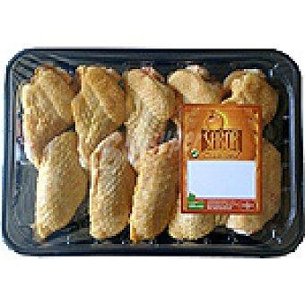 SABOR Alas partidas de pollo peso aproximado Bandeja 400 g