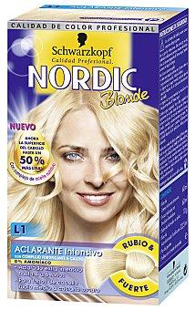 Nordic Tinte coloracion permanente Nº 01 aclarante ultra nordic u