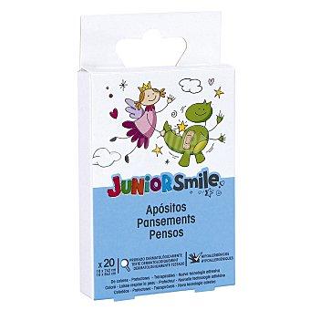 JUNIOR SMILE Tiritas para niños Caja 20 uds