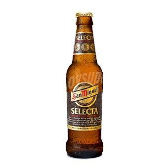San Miguel Cerveza selecta Botella 33 cl