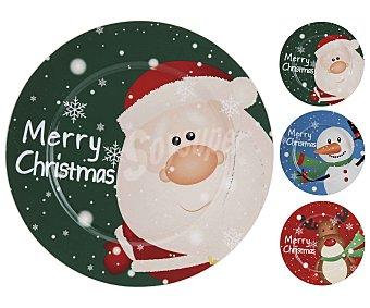 Actuel Bajoplato decorativo de navidad de 33 centímetros, actuel