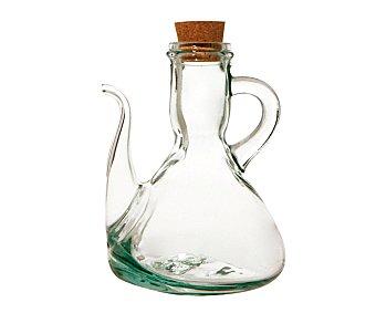 Quid Aceitera, vinagrera de vidrio con tapón de corcho, 0,5 litros de capacidad 1 unidad