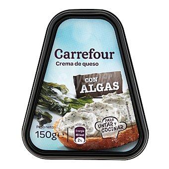 Carrefour Crema de queso con algas 150 g