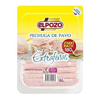 ElPozo pechuga de pavo en lonchas finas Bienestar envase 180 g