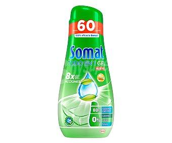 Somat Lavavajillas en gel Todo en 1 960 ml