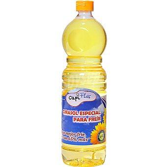 Capiplus Aceite de girasol especial para freir Botella 1 l