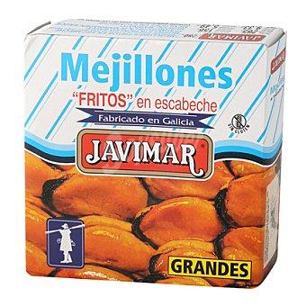 """Javimar Mejillones """"fritos"""" en escabeche gigantes 156 g"""