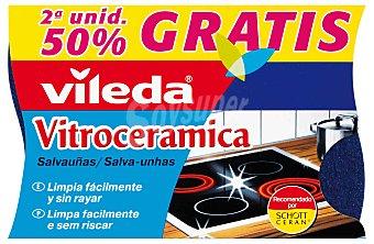 Vileda Salvauñas para vitrocerámica Pack 2 unid