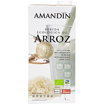 AMANDIN Bebida ecológica de arroz Envase 1 l