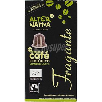 ALTERNATIVA 3 Café Expresso Ecológico Comercio Justo Fragante Alternativa 3 Café Expresso Ecológico Comercio Justo Fragante Estuche 55 g