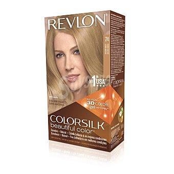 Revlon Colorsilk Tinte cabello rubio medio 74 Caja 1 unidad