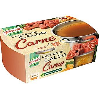 Knorr Caldo de carne cacitos 8 ud