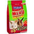 Menú para conejos enanos Saco 3 kg Vitakraft