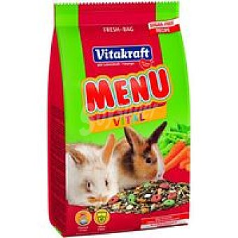 Vitakraft Menú para conejos enanos Saco 3 kg