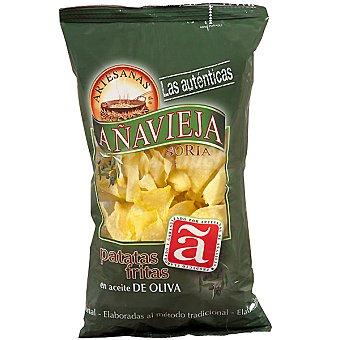 Añavieja Patatas fritas artesanas en aceite de oliva Bolsa 150 g
