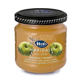 Hero Maridaje del chef mermelada manzana y romero frasco 215 gr Frasco 215 gr