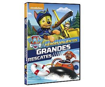 Paw patrol Héroes valientes, grandes rescates en Dvd. Género: animación, infantil, preescolar. Edad: TP