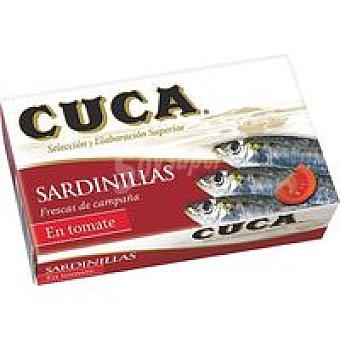 Cuca Sardinilla en salsa de tomate Lata de 90 g