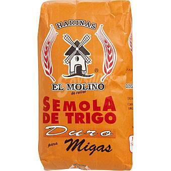 El Molino Sémola de trigo para migas Paquete 1 kg