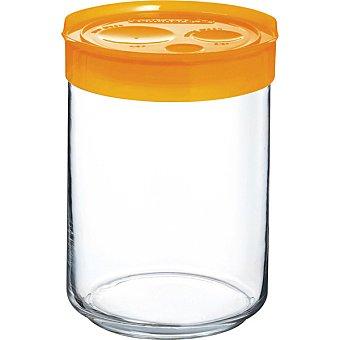 Luminarc Tarro Hermético con tapa en color naranja  1 Unidad