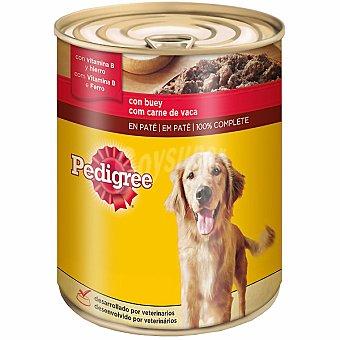 PEDIGREE Alimento para perro con buey especial adultos  lata de 800 g