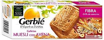 Gerblé Galletas muesli con avena sin azúcar Estuche 290 g