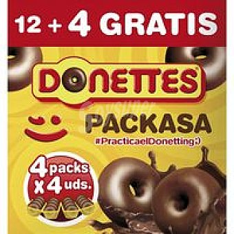 Donettes multipack 12+4 unid