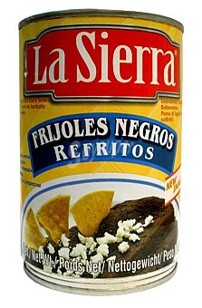 LA SIERRA Frijoles negros refritos lata 430 g