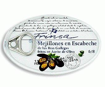 Frinsa Mejillones de las Rías Gallegas Fritos en Escabeche 69g