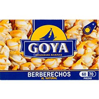 Goya Berberecho 60/70 piezas Lata 63 g
