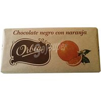 Orbea Chocolate con naranja Tableta 125 g