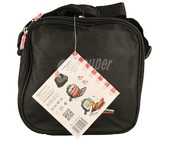 Tatay Kit Urban Food, bolsa isotérmica porta-alimentos. Incluye 4 recipientes con cierre hermético y capacidad de 0.5 litros y 0.2 litros. Compartimento para cubiertos y servilletas 1 Unidad
