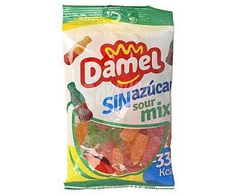 Damel Caramelos de goma sour, Mix, sin azúcar añadido 100 g