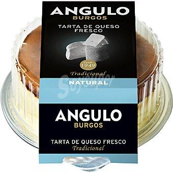 Angulo Tarta de queso fresco natural Envase 180 g