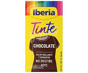 Iberia Tinte para ropa cambia el color chocolate Caja 2 unidades