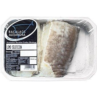 Bacalaos alejandra lomo selección bacalao desalado Bandeja 500 g