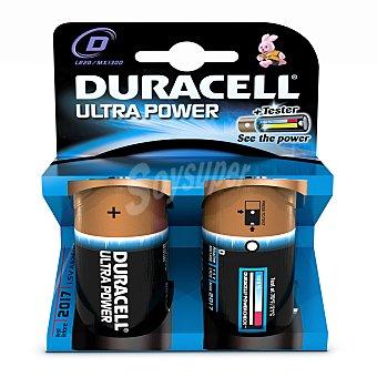 Duracell Pilas alcalinas LR20-D 1,5V M3 2 unidades